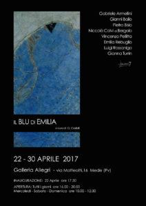 Il Blu di Emilia - Mostra d'Arte - Gruppo 7