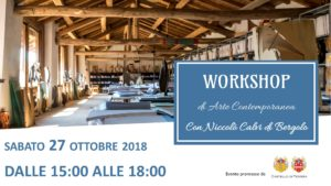 Workshop di arte moderna con Niccolò Cavi di Bergolo