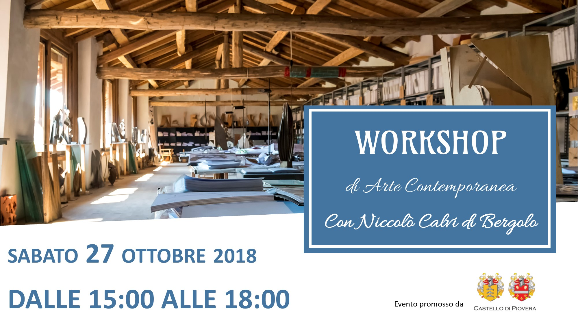 Workshop di arte contemporanea